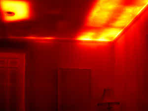 Mit Smartphone und infrarotsensor kalte Stellen im Haus finden